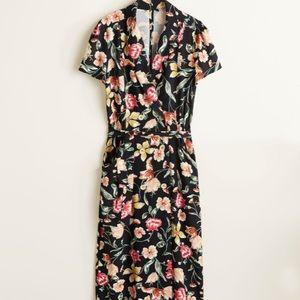 🌸NWT🌻Floral Midi dress